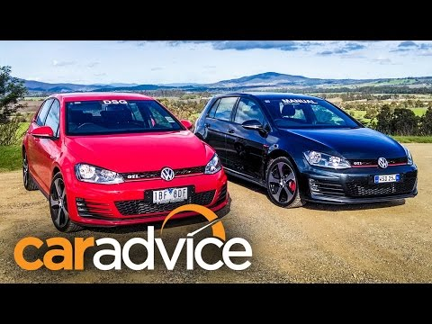 Volkswagen Golf GTI Comparison : Manual v DSG