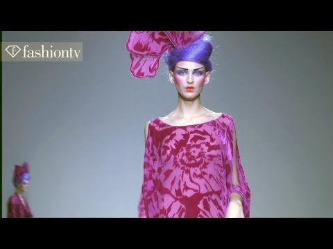 Spectacular Styling at Elisa Palomino Fall 2012 Show | MBFW Madrid | FashionTV
