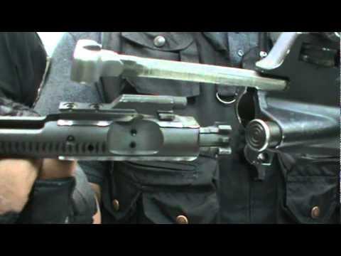 DESARME Y ARME DE GLOCK, AR-15 Y ESCOPETA.