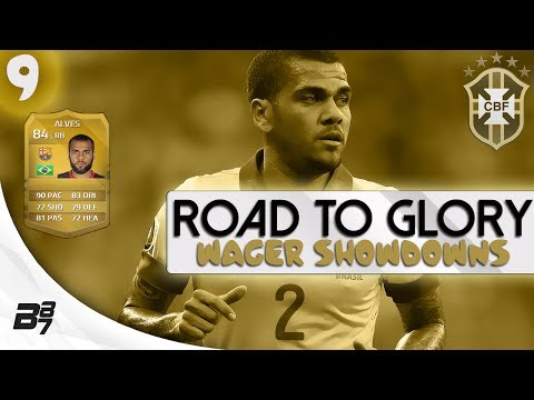 ROAD TO GLORY WAGER MATCHES BRAZIL | DANI ALVES #9 | FIFA 14 UT