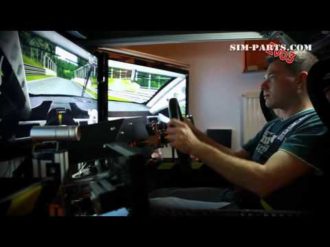 Motion Simulator - Race Cockpit DIY - Eyefinity - GTR Evo Testdrive