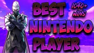 Fortnite Best Nintendo Switch Player 1000+ Wins! (Solos and Scrims!!)  from Wiikstrom™