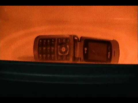 Cell Phone In The Microwave