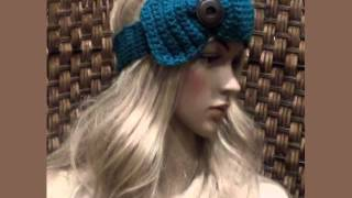 Knitted Bow Ear Warmer