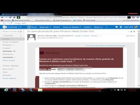 Descarga e Instala Media Center Pack para Windows 8 Gratis por tiempo limitado