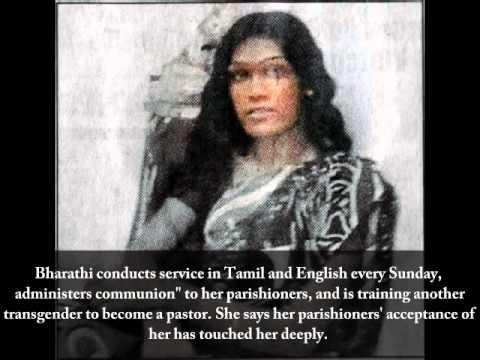 India's first transgender pastor   Bharthi