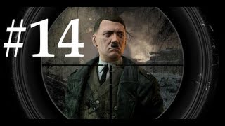 Sniper Elite V2 Walkthrough / Gameplay Part 14 - Rooftop Pin Down