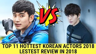 Top 10 Hottest Korean Male Actor's. Latest Review in ( 2018).