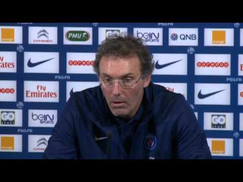 Laurent Blanc zur Ermordung von Ezequiel Lavezzis Onkel | Paris Saint-Germain - Valenciennes FC