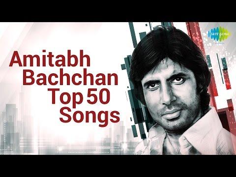 Top 50 songs of Amitabh Bachchan  अमिताभ बच्चन के 50 हिट गाने  HD Songs  One Stop Jukebox