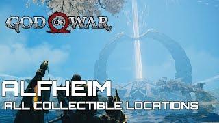 God Of War 100% Collectible Guide ALFHEIM
