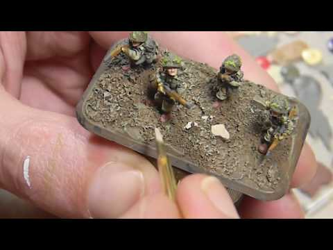 How To Paint 15mm US Airborne for Flames of War
