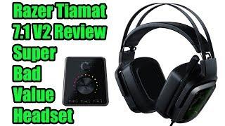 Razer Tiamat 7.1 V2 Gaming Headset Review - Stay Away!