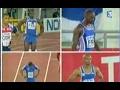 Les Français champions du monde du 4x100m (Helsinki 2005)
