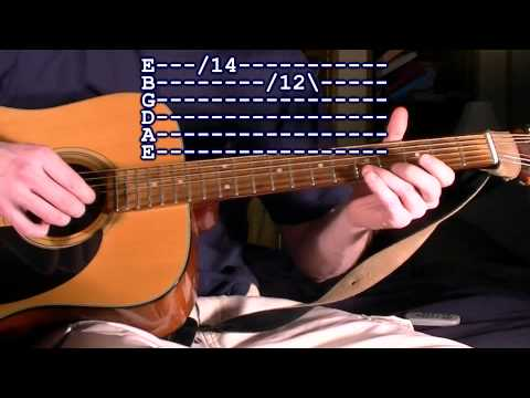 The Two Note Guitar Lesson, aka The Whistle Riff