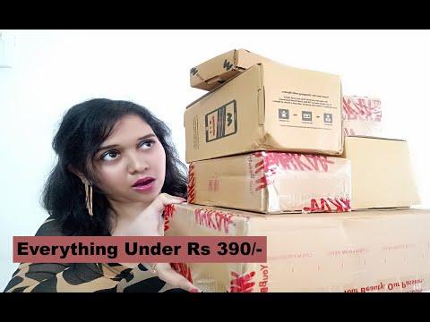 How to Save Money | Nykaa Haul + Myntra  Beauty | Anindita Banerjee
