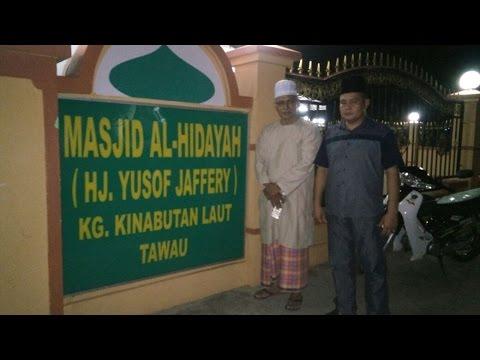 Ceramah Haji Shaari di Masjid Al-Hidayah Kg Kinabutan Laut