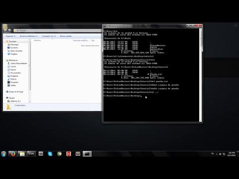 Como utilizar la Consola de Windows (Comandos básicos CMD)