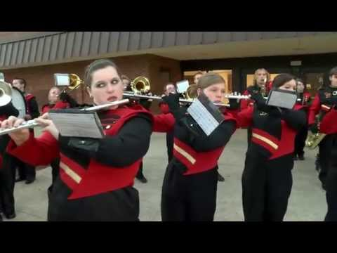 Daniel Boone High School band performs LIVE on WJHL