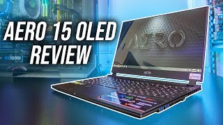 Gigabyte Aero 15 OLED XA Laptop Review