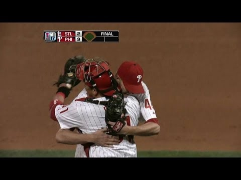 STL@PHI: Madson retires Furcal to clinch NL East