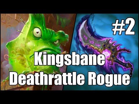 [Hearthstone] Kingsbane Deathrattle Rogue (Part 2)