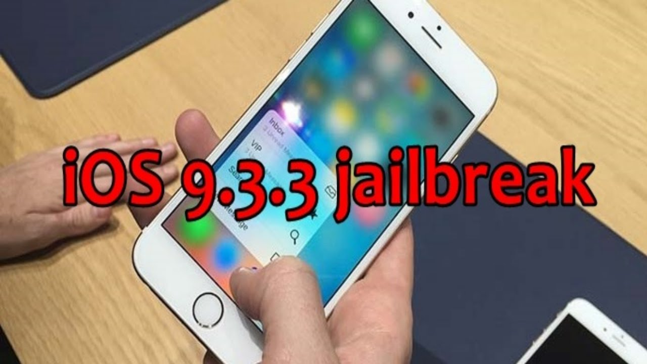 How to Jailbreak your iPhone (iOS 9.3.3) - YouTube