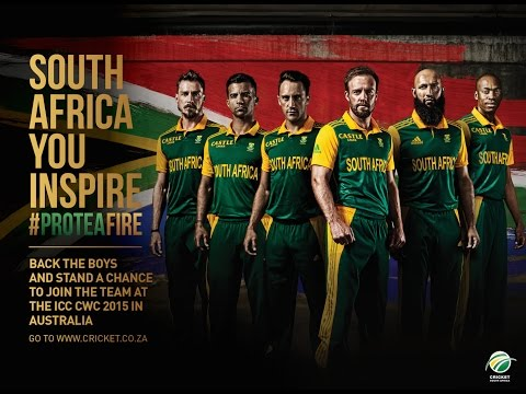 South Africa, your support means everything to the Proteas. Now they want you to get behind the team and send them messages of encouragement, belief and moti...