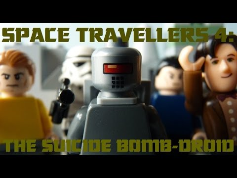 Space Travellers 4: The Suicide Bomb-Droid (Brickfilm)