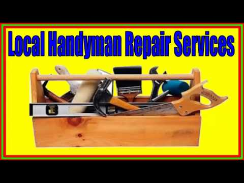 San Jose CA Local Handyman Repair Services