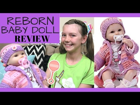 Reborn Baby Doll Soft Silicone vinyl 18 inch REVIEW SanyDoll