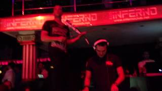 David vendetta inferno live
