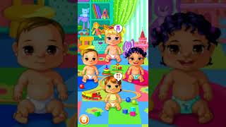 My Baby Care. Game for kids. Baby care