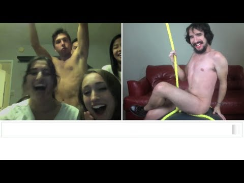 Watch Miley Cyrus - Wrecking Ball (Chatroulette Version)