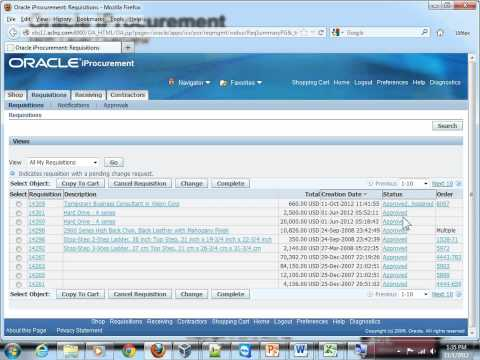 Overview of Oracle iProcurement (EBS R12.1.3+)