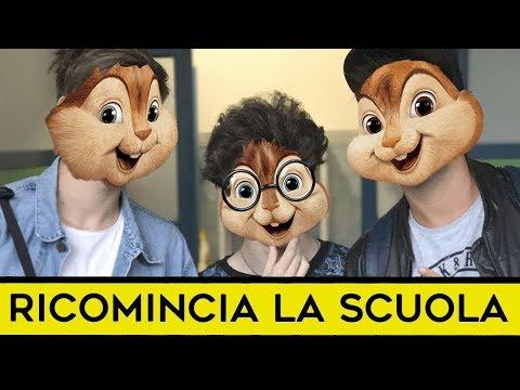 iPantellas & Favij - RICOMINCIA LA SCUOLA (Chipmunks Version)