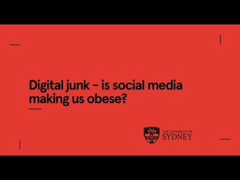 Digital junk – is social media making us obese?