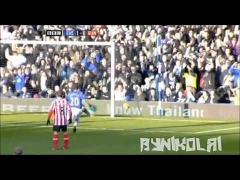Mikel Arteta - Spanish Freekick Master 2011/12 [HD]