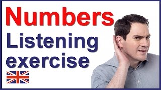 English listening quiz - NUMBERS