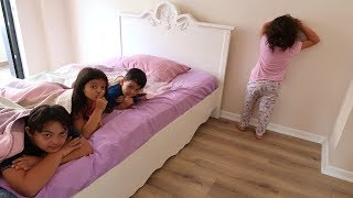 Elif Öykü , Masal and Cousins Hide and Seek Funny Kids Video
