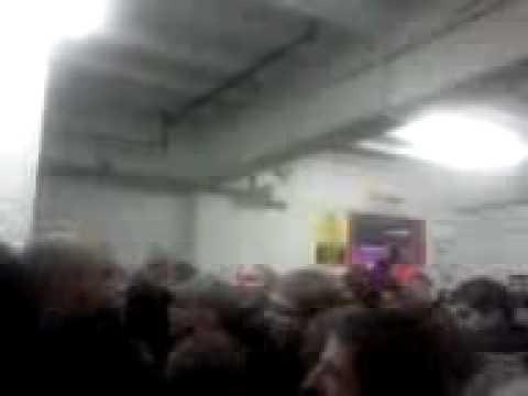 Villa fans chanting Super Marc Albrighton
