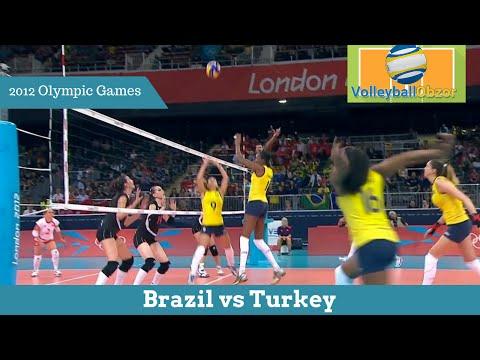 Brazil vs Turkey | Women`s volleyball of the XXX Olympiad 2012 thumbnail