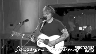 Ed Sheeran - One lyrics