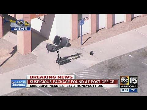 Suspicious package found at Maricopa post office