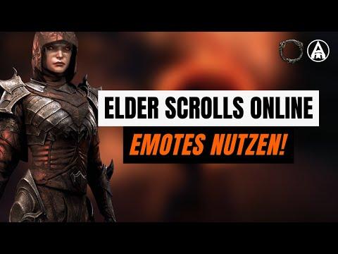 Elder Scrolls Online: Wie führt man Emotes aus? (Flöte spielen, tanzen, applaudieren)