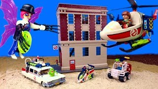 Download Song Playmobil BIG Unboxing Ghostbuster Toys Movie/ Ghostbusters Kinderfilm Free StafaMp3