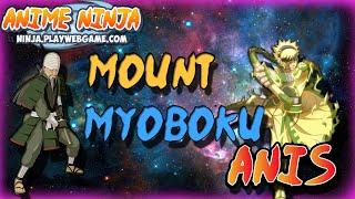 Anime Ninja- Mount Myoboku - Mifune