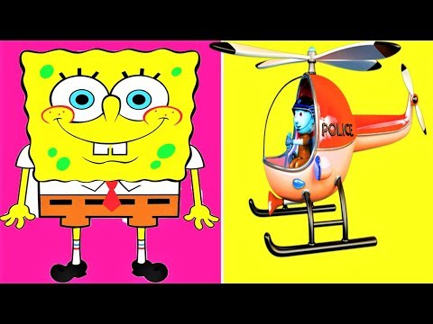 Watching video Police Helicopter, Kids House LEGO Building Block Toys, Bricks, Play Doh Toy, Surprise Eggs