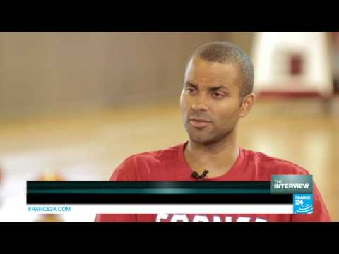 Exclusive interview of French and San Antonio Spurs point guard Tony Parker