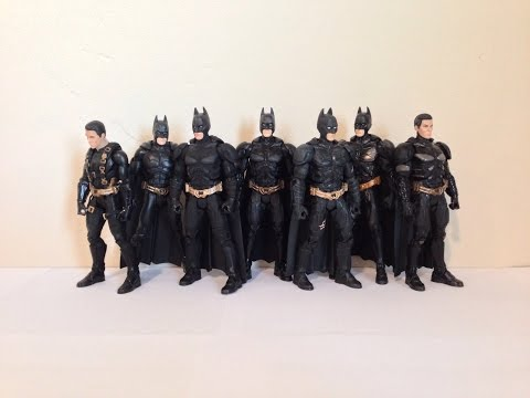 Mattel Batman Movie Masters Batman Comparisons and Reviews